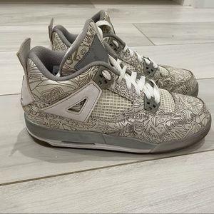 Air Jordan 4 laser sneakers 6.5Y 39